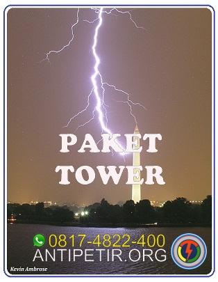 ANTI PETIR TOWER, PENANGKAL PETIR UNTUK TOWER GEDUNG, HARGA PASANG PENANGKAL PETIR TOWER GEDUNG 0