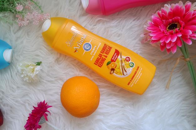 Syampu Ahurah Ariana Rambut Kering dan Rosak atau Dry and Damaged Hair
