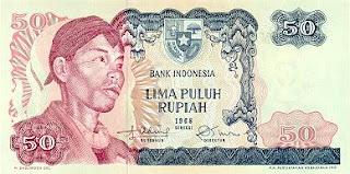 uang jaman dulu 50 rupiah