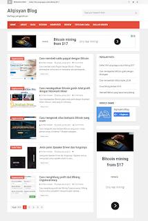 mendaftar Google Adsense pasti diterima - Alqisyan Blog - Homepage Juli 2017
