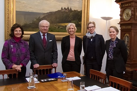 Ministry for Foreign Affairs briefed King Gustaf and Queen Silvia ahead of the state visit from Iceland to Sweden. Gudni Thorlacius Jóhannesson
