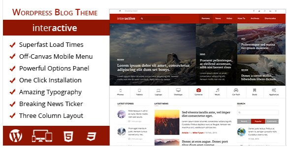 Awesomes WP Themes of 2016