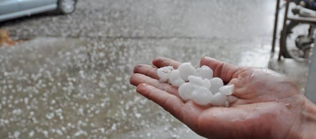 Πρωτοφανές: Νιφάδες χιονιού και χαλάζι καλοκαιριάτικα στην Ελασσόνα! - Όπως το 1816 που δεν είχε καλοκαίρι