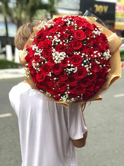 bó hoa hồng tặng người yêu đẹp
