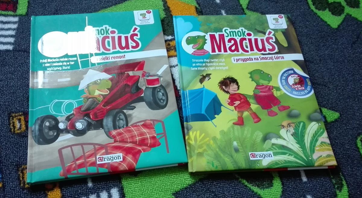 Literatura dziecięca - porywające przygody Smoka Maciusia