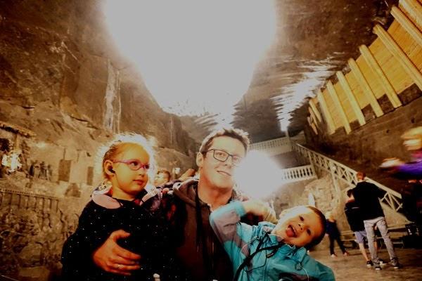 kopalnia soli wieliczka z dziećmi