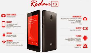 Xiaomi Redmi 1s Specs