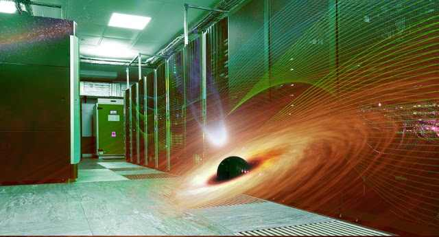 Supermassive black holes and supercomputers