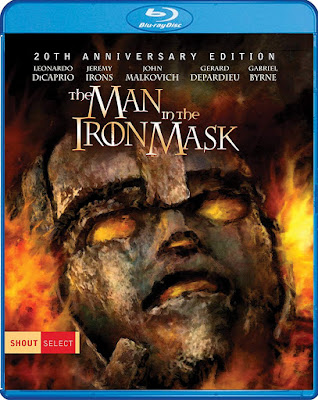 The Man In The Iron Mask Blu Ray 20th Anniversary Edition