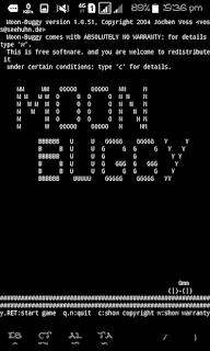 Cara Bermain Game Moon Buggy di Termux