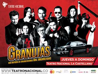 Granujas en el Teatro Nacional La Castellana