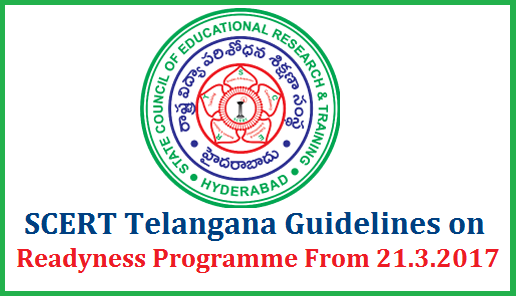 Rc 615 SCERT Telangana Certain Guidelines on Academic Activities after SA II | Director State Council for Education Research and Training Hyderabad Telangana instructions regarding Academic aspects after completion of Summative Assessment in Telangana State Schools | Academic Activities to be followed by the teachers after SA II in Schools | Suggested Action Plan for Remedial Teaching | School Readyness Programme from 21.03.2017 to 23.04.2017 | Time Table for Readyness Programme | Rc 615 SCERT Telangana Certain Guidelines on Academic Activities Readyness Programme Action Plan after SA II rc-615-scert-telangana-certain-guidelines-action-plan-readyness-programme-academic-calendar-2017-18