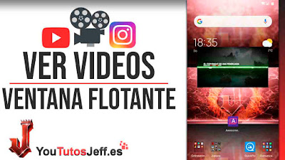 como ver videos de youtube en ventana flotante