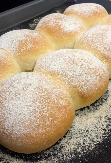 Thermomix Soft White Bread Rolls