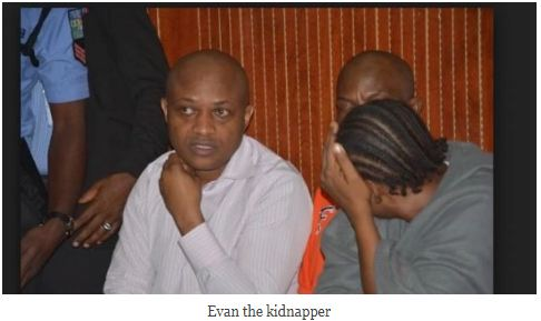 Kidnapper Evans Pleads Guilty to Kidnap Charges