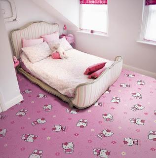 Gambar Karpet Hello Kitty yang Lucu 2