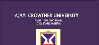 Ajayi Crowther University, ACU 1st batch postgraduate admission list for the 2016/2017 academic session is out.