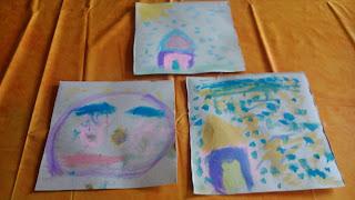 Pintar con acuarelas sobre cartón