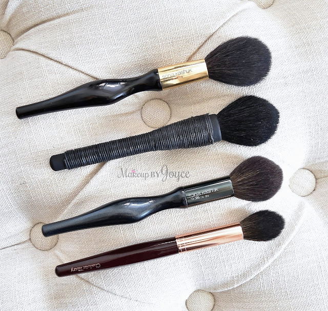 Sonia Kashuk NARS Domed Tapered Contour Sculpting Brush Comparison Review