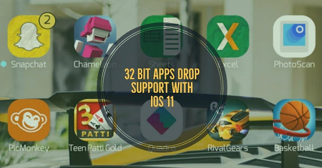 Apple will drop support for 32-bit apps with upcoming iOS 11 that means many legacy apps will no longer supports due to which the developer of this app needs to update it to improve its compatibility to run on iOS 11.