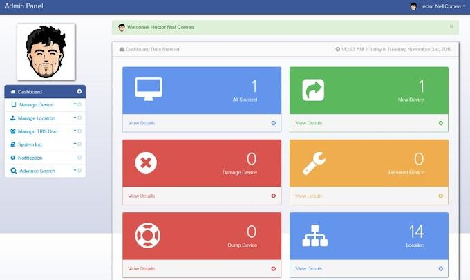 BARU! Aplikasi Inventory Barang berbasis web dengan Php