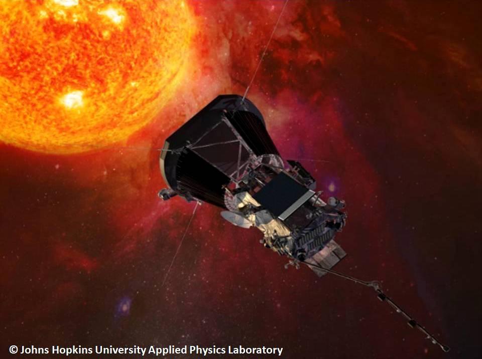 ناسا تطلق مسبار الفضاء باركر إلى حدود الشمس !