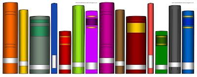 Book Spine Clip Art - Cliparts (400 x 158 Pixel)