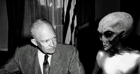 extraterrestres y acuerdos con el gobierno