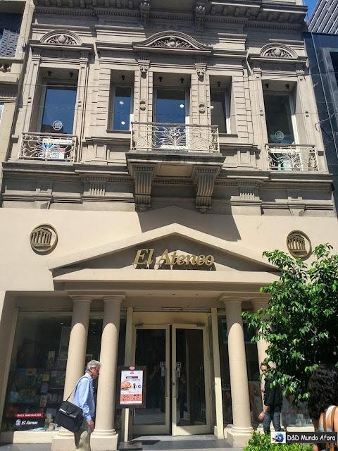 Livraria El Ateneo - 8 lugares para comprar em Buenos Aires, Argentina