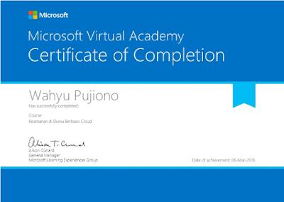 sertifikat - Belajar Gratis Dengan Microsoft!