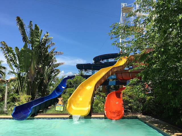 Leisure Coast Resort slides