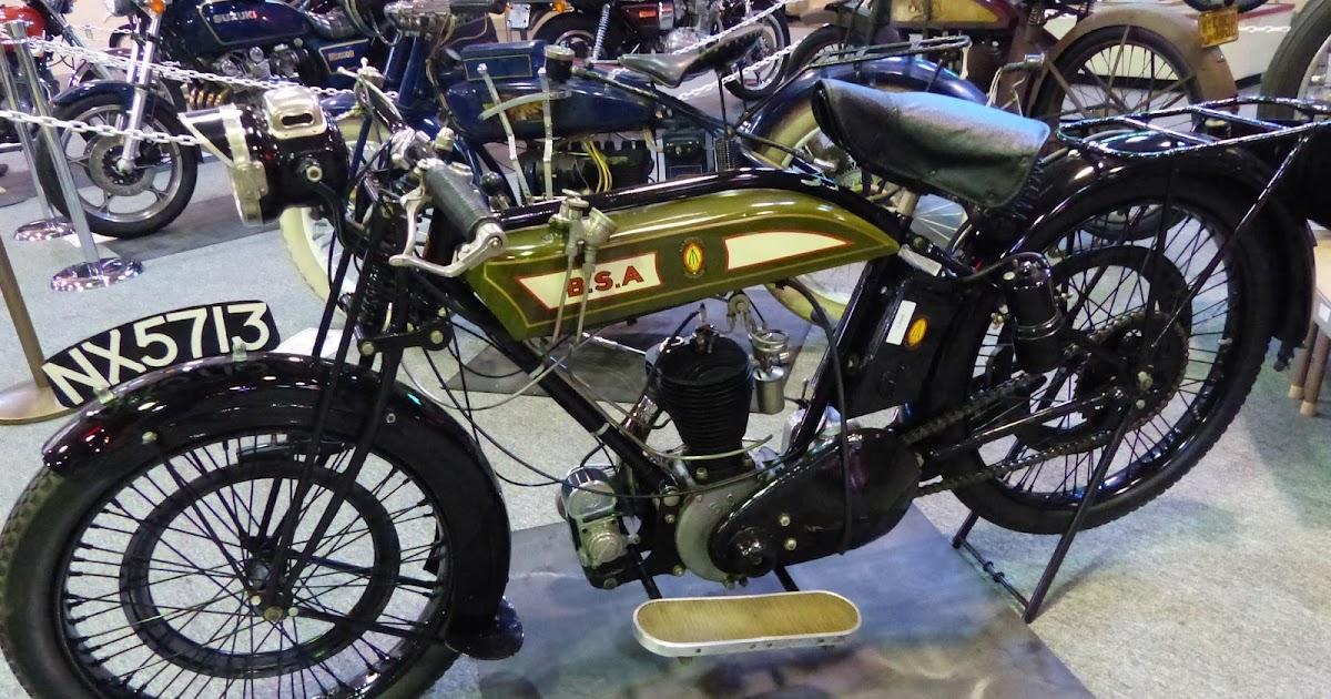 1970 Harley Davidson Evel Knievel Tribute: OldMotoDude: 1924 BSA Model SV On Display At The 2016