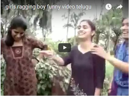 Girls Ragging BOY FUNNY MUST Watch