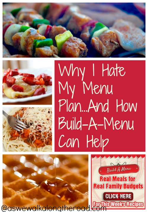 How Build-A-Menu can help with easy menu planning