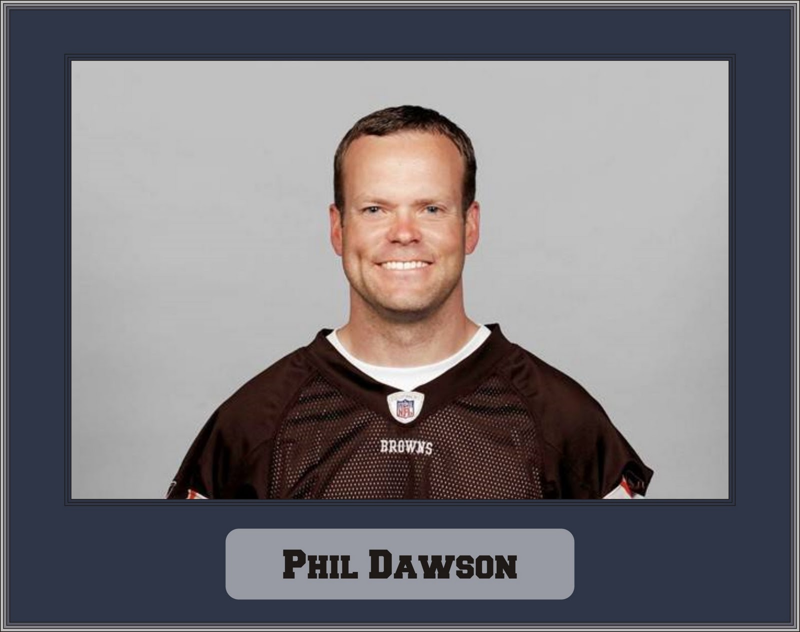 24b515c43 West Valley Browns Backers  Browns franchise kicker Phil Dawson
