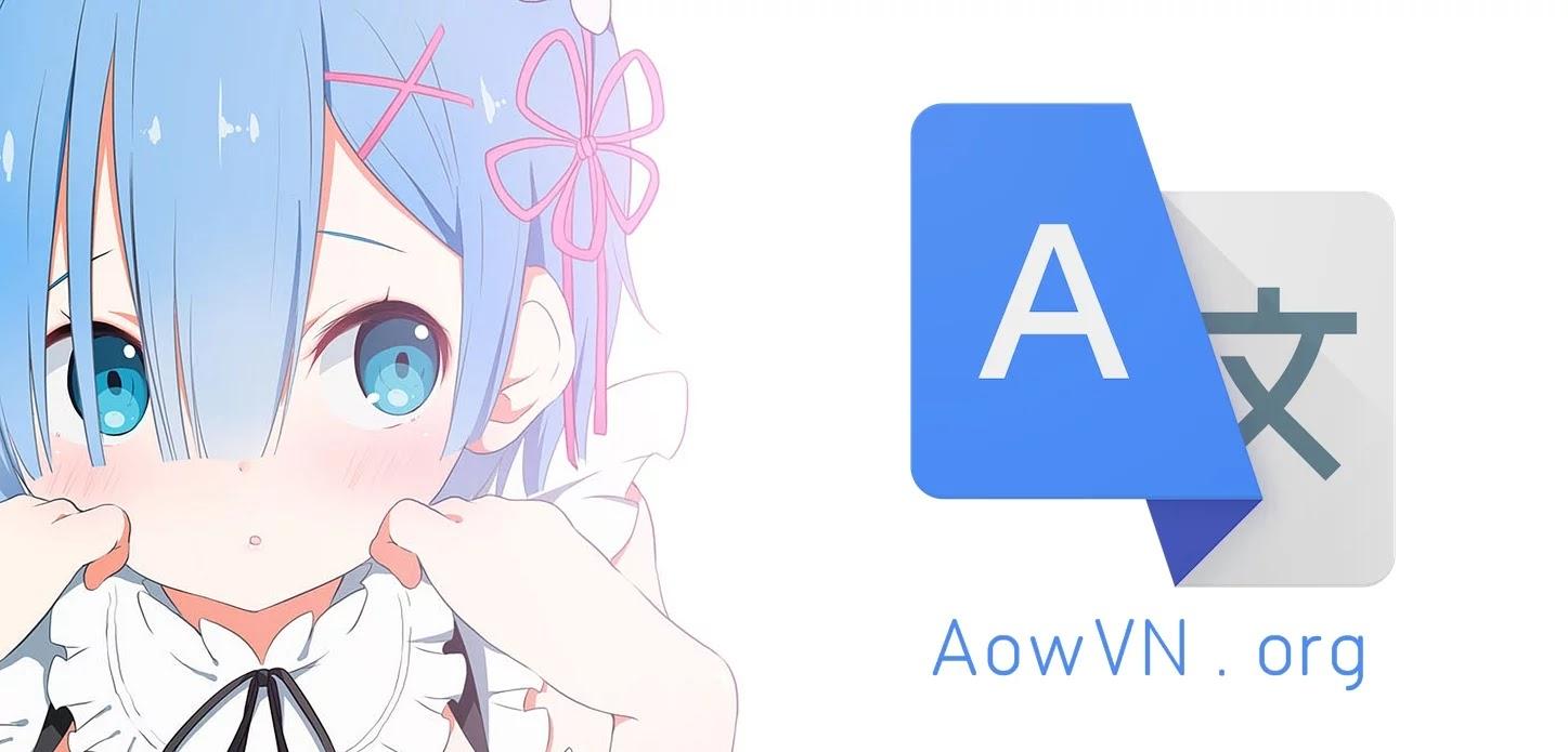 AowVN Google - [ Hướng Dẫn ] Cách Dùng App Google Dịch để dịch game Trung , Nhật , Hàn , Anh