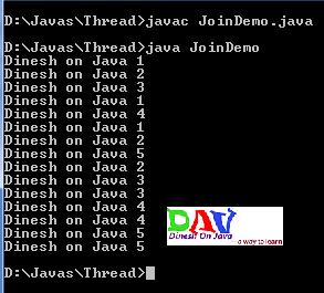 Java Threads Join