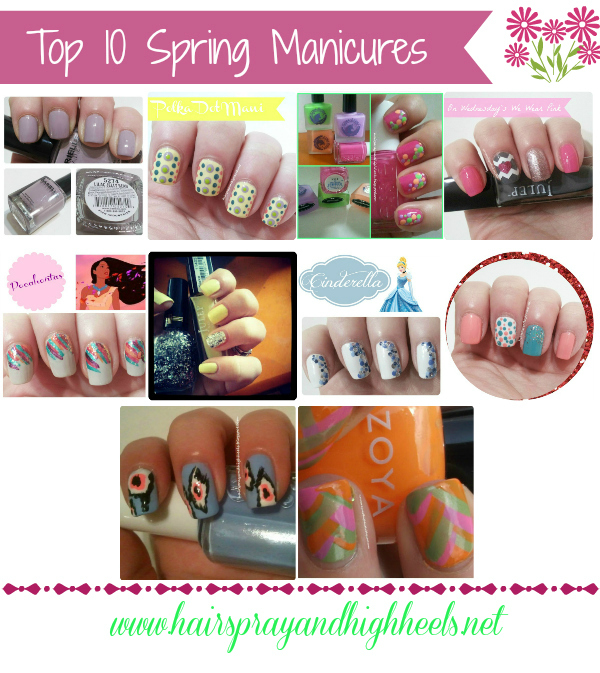 Top 10 Spring Manicures