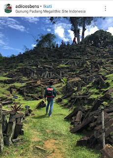 Gunung Padang termasuk dalam 7 cluster wisata di cianjur
