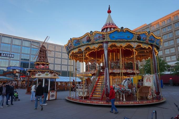 Karuselli Berliinin Alexanderplatzilla