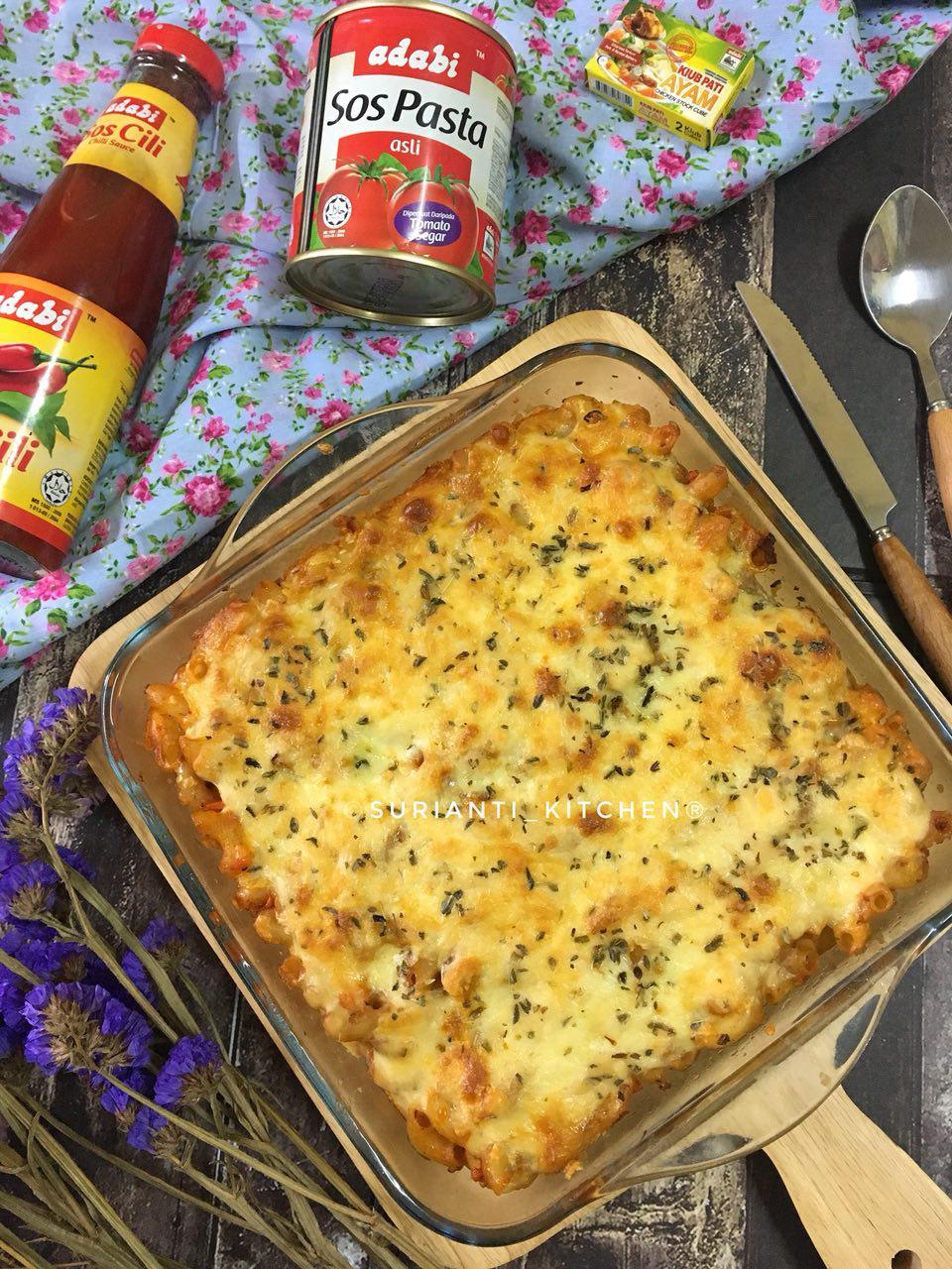 Jom Masak Makaroni Bakar Sedap Dan Kaya Dengan Cheese