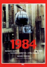 "Carátula del DVD ""1984"""
