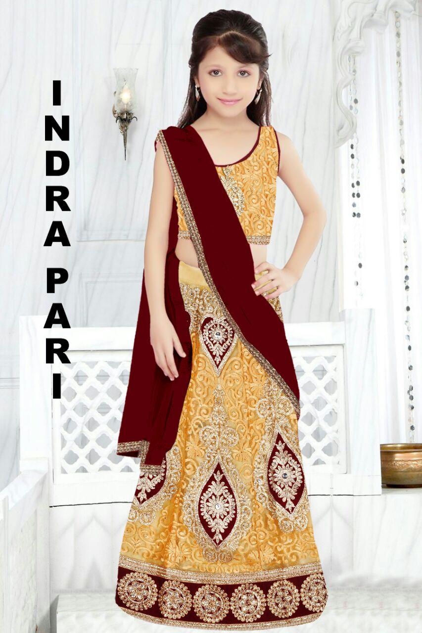 Indrapari – Fully Stitched Designer Lehenga Choli
