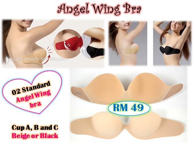 e01666b86c8e6 Angel Wing bra and Seamless V bra- Strapless backless ultralite adhesive bra