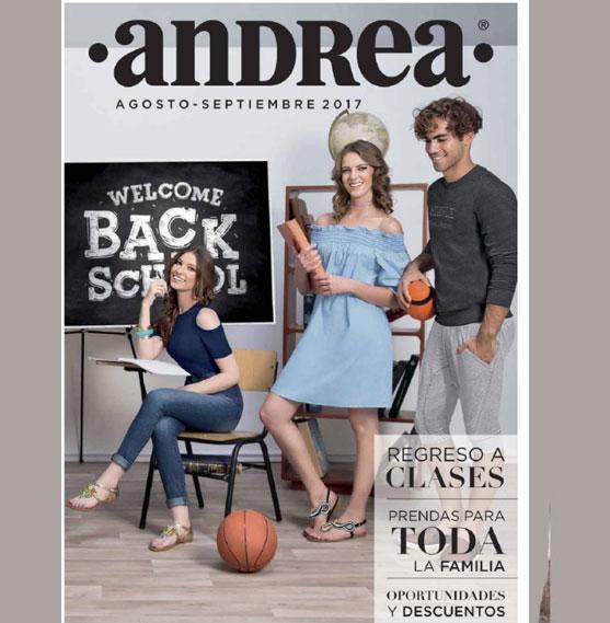 Catalogo Andrea outlet : Agosto Setiembre 2017