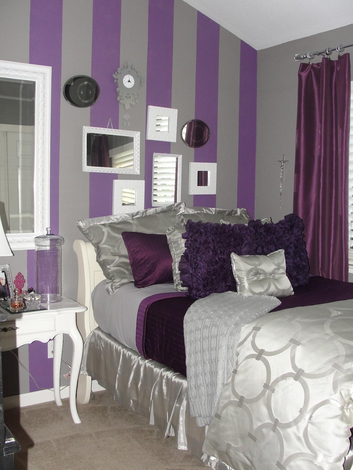 kl royal purple room decor