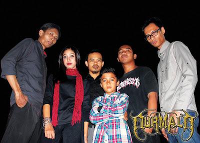 NURMALA Band Gothic Metal Indramayu foto personil logo cover artwork logo wallpaper