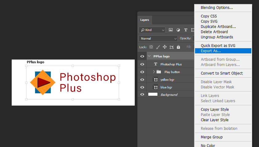 How To Export Svg From Photoshop Cc Designeasy