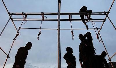 Public hanging, Iran