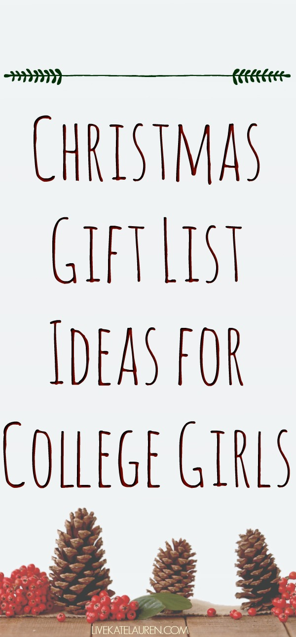 brainstorming this list did i miss anything be sure to let me know if theres something i have missed or if you already have of these items and love - Christmas List Ideas For College Students